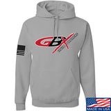 Gould Brothers Gould Brothers Full Logo Hoodie Hoodies Small / Light Grey by Ballistic Ink - Made in America USA