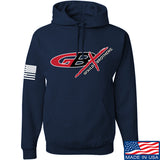 Gould Brothers Gould Brothers Full Logo Hoodie Hoodies Small / Navy by Ballistic Ink - Made in America USA