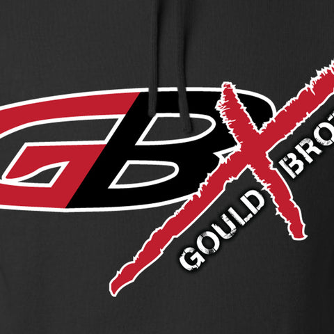 Gould Brothers Gould Brothers Full Logo Hoodie Hoodies [variant_title] by Ballistic Ink - Made in America USA