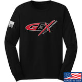 Gould Brothers Gould Brothers Full Logo Long Sleeve T-Shirt Long Sleeve Small / Black by Ballistic Ink - Made in America USA