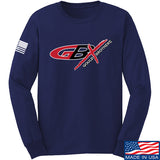 Gould Brothers Gould Brothers Full Logo Long Sleeve T-Shirt Long Sleeve Small / Navy by Ballistic Ink - Made in America USA