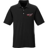 Gould Brothers Gould Brothers Logo Polo Polos Small / Black by Ballistic Ink - Made in America USA