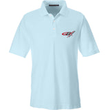 Gould Brothers Gould Brothers Logo Polo Polos Small / Crystal Blue by Ballistic Ink - Made in America USA