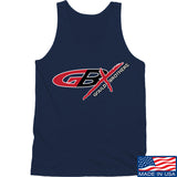 Gould Brothers Gould Brothers Full Logo Tank Tanks SMALL / Navy by Ballistic Ink - Made in America USA