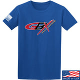 Gould Brothers Gould Brothers Full Logo T-Shirt T-Shirts Small / Blue by Ballistic Ink - Made in America USA