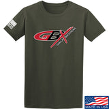 Gould Brothers Gould Brothers Full Logo T-Shirt T-Shirts Small / Military Green by Ballistic Ink - Made in America USA