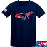 Gould Brothers Gould Brothers Full Logo T-Shirt T-Shirts Small / Navy by Ballistic Ink - Made in America USA