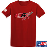 Gould Brothers Gould Brothers Full Logo T-Shirt T-Shirts Small / Red by Ballistic Ink - Made in America USA