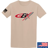 Gould Brothers Gould Brothers Full Logo T-Shirt T-Shirts Small / Sand by Ballistic Ink - Made in America USA