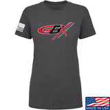 Gould Brothers Ladies Gould Brothers Full Logo T-Shirt T-Shirts SMALL / Charcoal by Ballistic Ink - Made in America USA