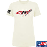Gould Brothers Ladies Gould Brothers Full Logo T-Shirt T-Shirts SMALL / Cream by Ballistic Ink - Made in America USA