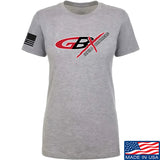 Gould Brothers Ladies Gould Brothers Full Logo T-Shirt T-Shirts SMALL / Light Grey by Ballistic Ink - Made in America USA