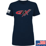 Gould Brothers Ladies Gould Brothers Full Logo T-Shirt T-Shirts SMALL / Navy by Ballistic Ink - Made in America USA