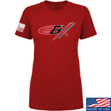 Gould Brothers Ladies Gould Brothers Full Logo T-Shirt T-Shirts SMALL / Red by Ballistic Ink - Made in America USA