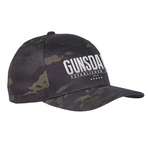 Gunsdaily Text Logo Flexfit® Multicam® Trucker Cap