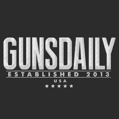 Gunsdaily Text Logo Polo