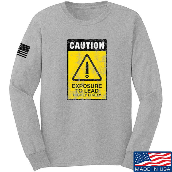 Exposure To Lead Warning Long Sleeve T-Shirt