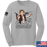 Gun Nerds [9mmsmg] Long Sleeve T-Shirt