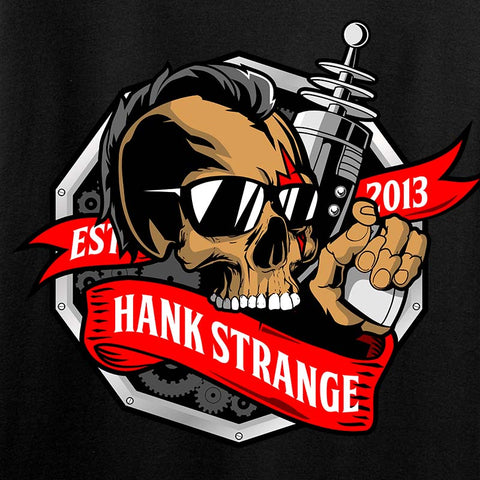 Hank Strange Laser Gun Chest Logo T-Shirt