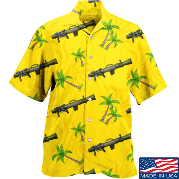 Palm Tree Carl Gustaf Hawaiian Shirt