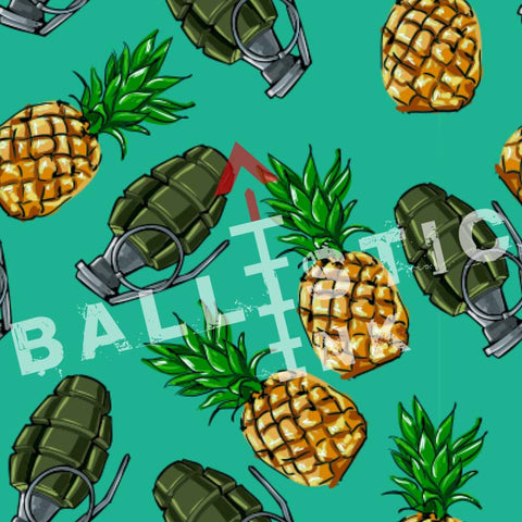 Pineapple Grenade Hawaiian Shirt