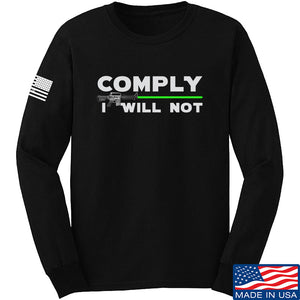Comply I Will Not Long Sleeve T-Shirt
