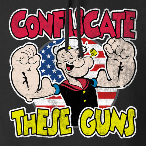 Confiscate These Guns Hoodie