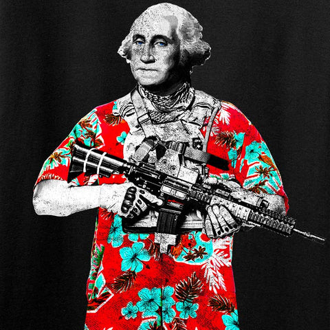 Boogaloo George Washington — 2020 Jan Man Can IV8888 T-Shirt