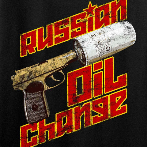 Russian Oil Change Tank