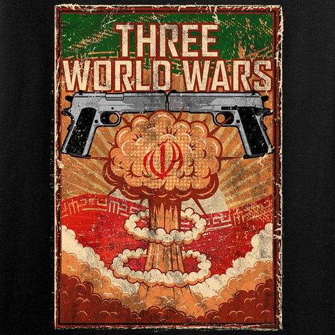 Ladies Three World Wars T-Shirt