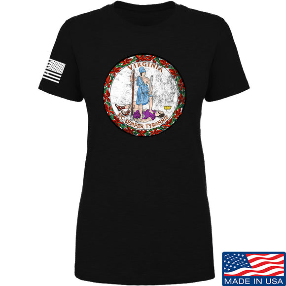 Ladies Virginia State Seal T-Shirt
