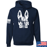 IV8888 War Dog Hoodie Hoodies Small / Navy by Ballistic Ink - Made in America USA