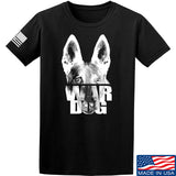 IV8888 War Dog T-Shirt T-Shirts Small / Black by Ballistic Ink - Made in America USA