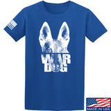 IV8888 War Dog T-Shirt T-Shirts Small / Blue by Ballistic Ink - Made in America USA
