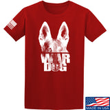 IV8888 War Dog T-Shirt T-Shirts Small / Red by Ballistic Ink - Made in America USA