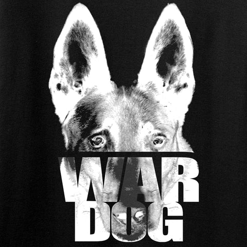 IV8888 Ladies War Dog V-Neck T-Shirts, V-Neck [variant_title] by Ballistic Ink - Made in America USA