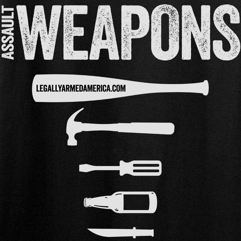 Assault Weapons Long Sleeve T-Shirt