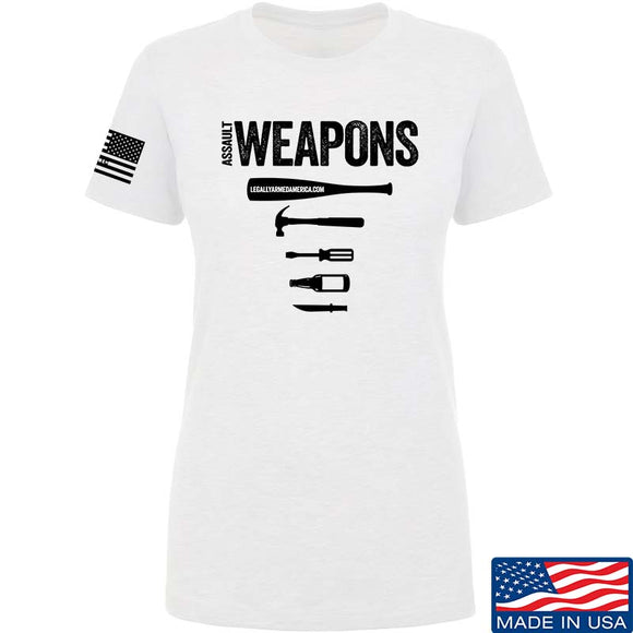 Ladies Assault Weapons T-Shirt