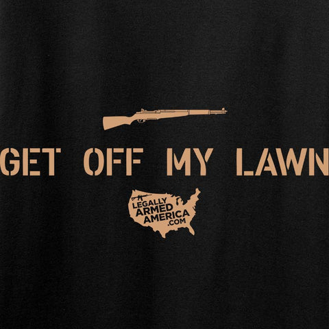 Ladies Get Off My Lawn T-Shirt
