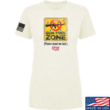 Ladies Gun Free Zone T-Shirt