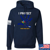 I Protect Those Who Can't Hoodie
