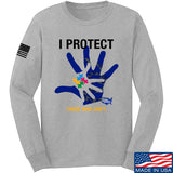 I Protect Those Who Can't Long Sleeve T-Shirt