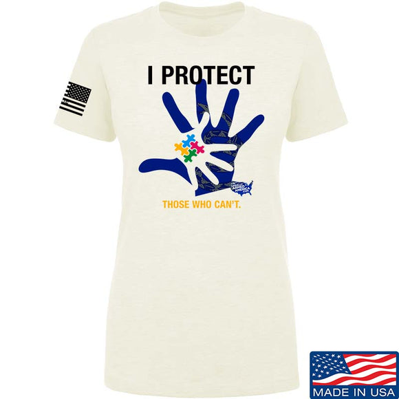 Ladies I Protect Those Who Can't T-Shirt