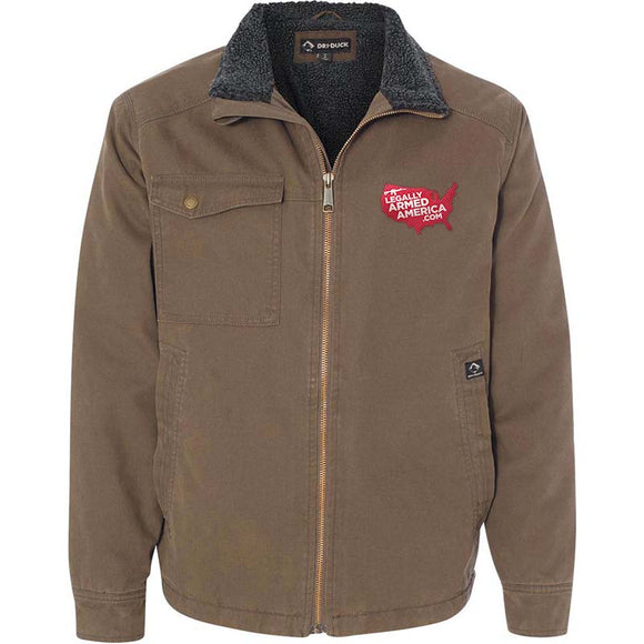 Legally Armed America Logo Dri Duck Men's Endeavor Jacket