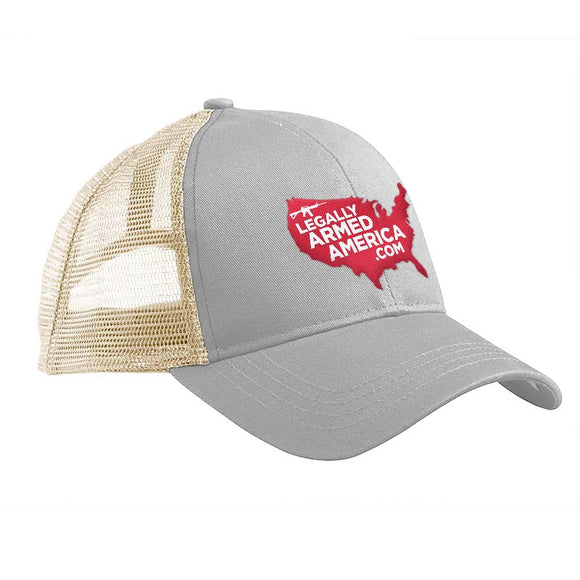 Legally Armed America Logo Trucker Snapback Cap