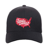 Legally Armed America Logo Snapback Cap