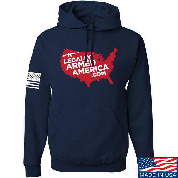 Legally Armed America Full Logo Hoodie