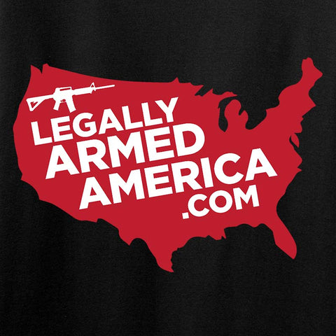 Legally Armed America Full Logo Tank