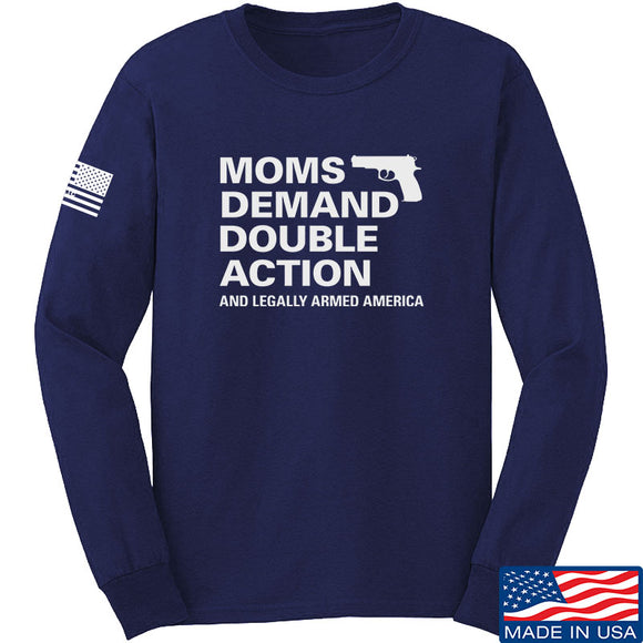 Moms Demand Double Action Long Sleeve T-Shirt