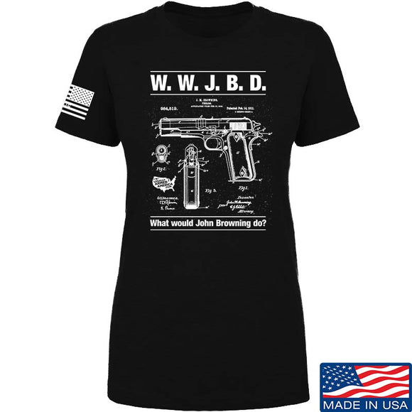 Ladies WWJBD T-Shirt